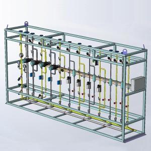 5 -  oxygen station for burner control
